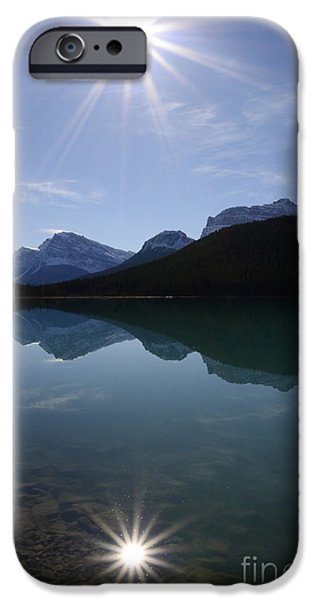 Reflections Of Nature iPhone Cases - Reflections Of Nature iPhone Case by Bob Christopher
