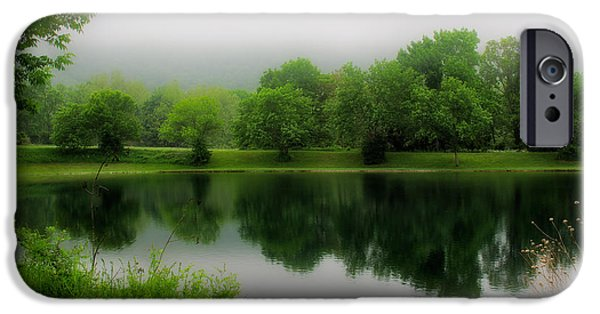 The Hatchery iPhone Cases - Reflections of the Shire iPhone Case by Mark Miller
