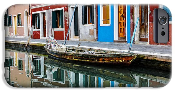 Venice iPhone Cases - Reflections iPhone Case by Yuri Santin