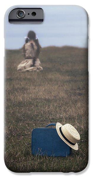 refugee girl iPhone Case by Joana Kruse
