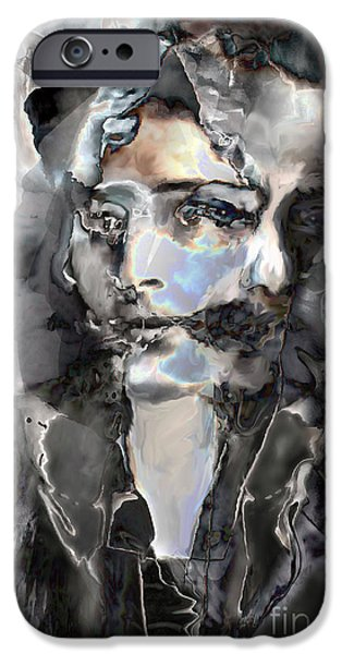Incarnation iPhone Cases - Reincarnation iPhone Case by Ursula Freer