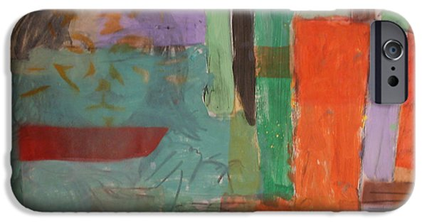 Multimedia Mixed Media iPhone Cases - Relation 2 iPhone Case by Thomas Jennings