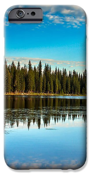 Relaxing On The Lake iPhone Case by Robert Bales