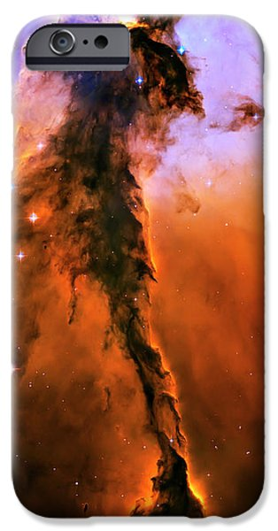 Heaven Photographs iPhone Cases - Release - Eagle Nebula 1 iPhone Case by The  Vault - Jennifer Rondinelli Reilly