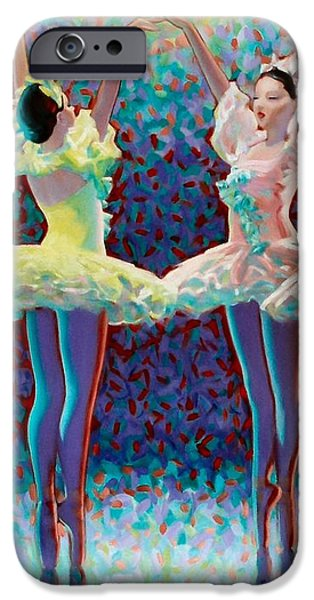 Releve' iPhone Case by Kevin Lawrence Leveque