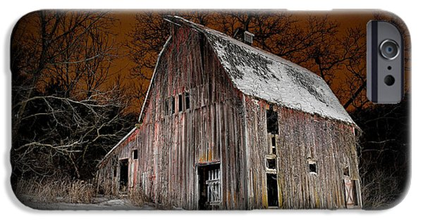Daviess County Photographs iPhone Cases - Relic of Jo Daviess County I iPhone Case by Tom Phelan