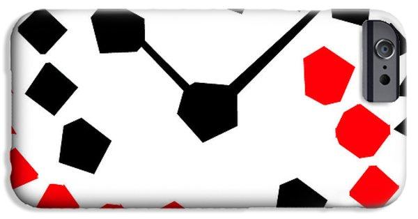 Vinil iPhone Cases - Reloj Moderno iPhone Case by Riccardo Zullian