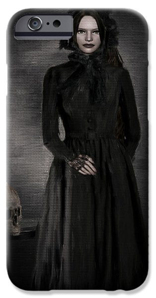 Macabre iPhone Cases - Remember Your Mortality iPhone Case by Lourry Legarde