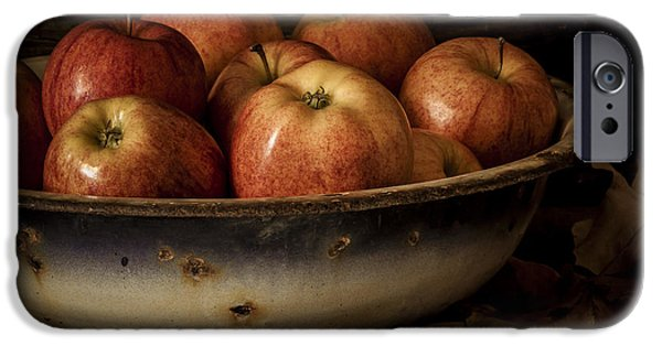 Wooden Bowls iPhone Cases - Remembering Autumn iPhone Case by Amy Weiss