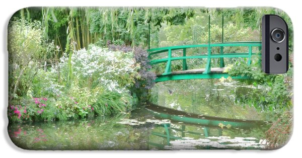Painter Photographs iPhone Cases - Remembering Monet  iPhone Case by Olivier Le Queinec