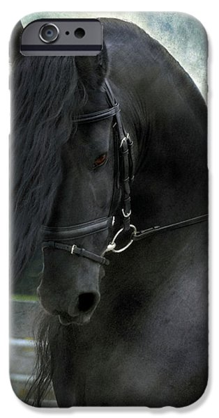 Horse Photographs iPhone Cases - Remme iPhone Case by Fran J Scott