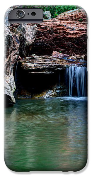 Remote Falls iPhone Case by Chad Dutson