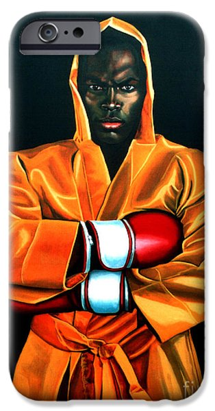 Super Stars iPhone Cases - Remy Bonjasky iPhone Case by Paul  Meijering