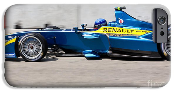 Michelin iPhone Cases - Renault Race Team ePrix Miami iPhone Case by Rene Triay Photography