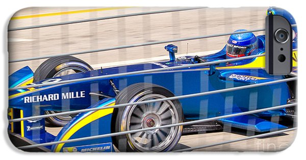 Michelin iPhone Cases - Renault Race Team ePrix IV iPhone Case by Rene Triay Photography