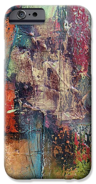 Concept Paintings iPhone Cases - Renew iPhone Case by Katie Black