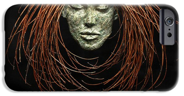 Human Figure Reliefs iPhone Cases - Renewed Solace iPhone Case by Adam Long