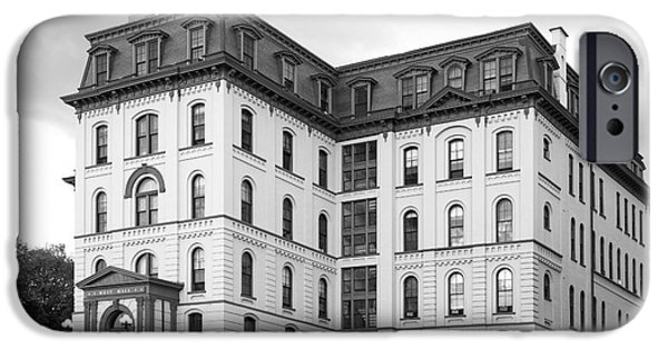 Special Occasion Photographs iPhone Cases - Rensselaer Polytechnic Institute West Hall iPhone Case by University Icons