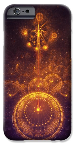 Sex Digital Art iPhone Cases - Representation of Climax iPhone Case by Cameron Gray