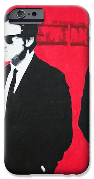Reservoir Dogs 2013 iPhone Case by Luis Ludzska