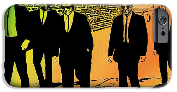 Reservoir Dogs iPhone Cases - Reservoir Dogs iPhone Case by Dan Sproul