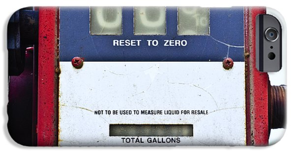 Disc iPhone Cases - Reset to Zero iPhone Case by Christi Kraft