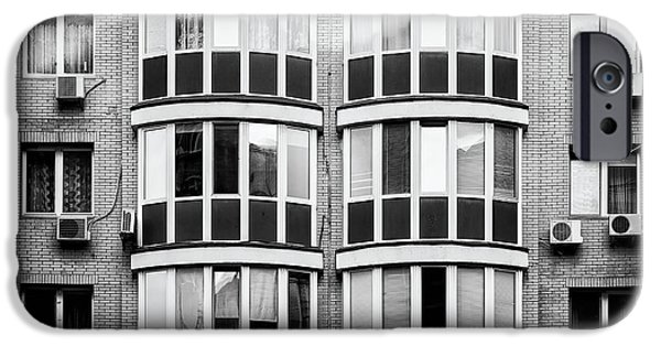 White House iPhone Cases - Residential Building iPhone Case by Alain De Maximy