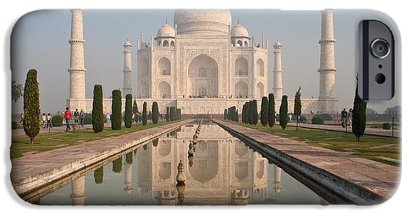 Hindu iPhone Cases - Resplendent Taj Mahal iPhone Case by Mike Reid