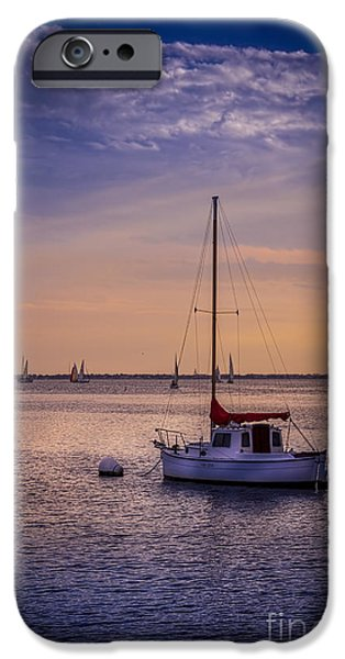 Low Tide iPhone Cases - Rest Day iPhone Case by Marvin Spates