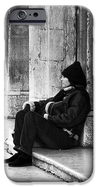 Resting at St. Mark's Square iPhone Case by John Rizzuto