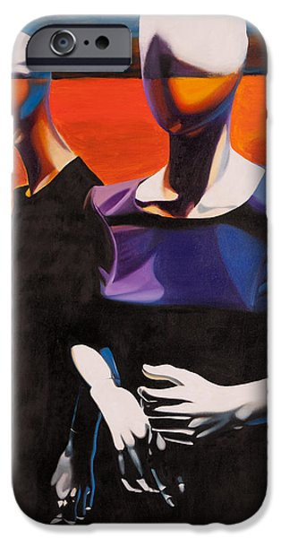 Model iPhone Cases - Restless Disguise iPhone Case by Karl Melton
