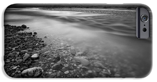 White River iPhone Cases - Restless river iPhone Case by Davorin Mance