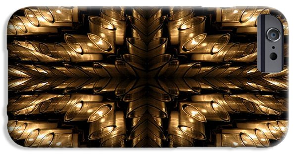 Abstract Digital Art iPhone Cases - Resurrection Candle Abstract iPhone Case by Rose Santuci-Sofranko
