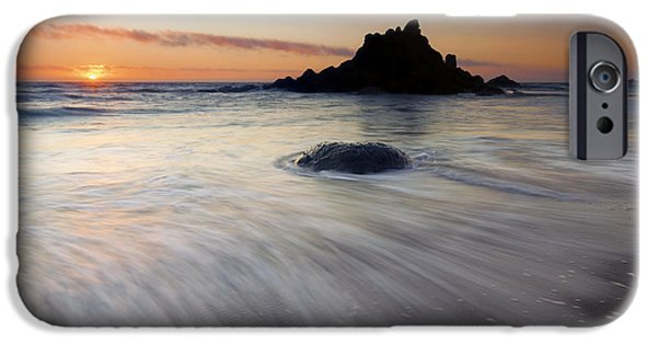Creek iPhone Cases - Retreat to the Sea iPhone Case by Mike  Dawson