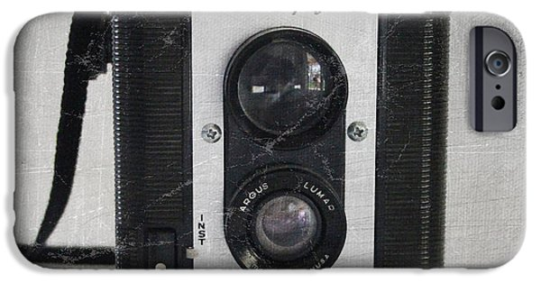 Camera iPhone Cases - Retro Camera iPhone Case by Linda Woods