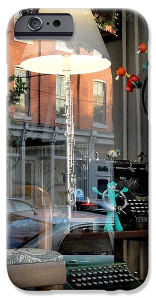 Toy Store iPhone Cases - Retro Reflection iPhone Case by Mary Beth Landis