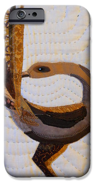 African-americans Tapestries - Textiles iPhone Cases - Return iPhone Case by Aisha Lumumba