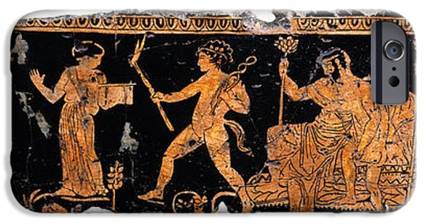 Zeus iPhone Cases - Return of Hephaistos iPhone Case by Steve Bogdanoff