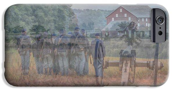 Battle Of Gettysburg Digital iPhone Cases - Return to Gettysburg iPhone Case by Randy Steele