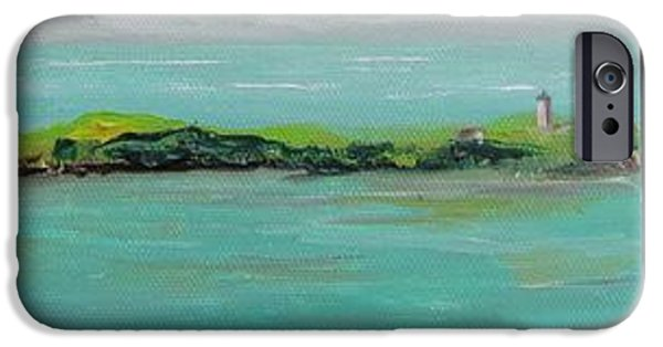 Young Paintings iPhone Cases - Provincetown Summer iPhone Case by Maria Milazzo