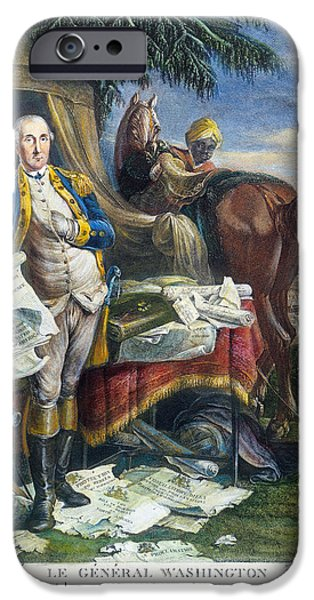 Yorktown iPhone Cases - Rev. War: Yorktown, 1781 iPhone Case by Granger
