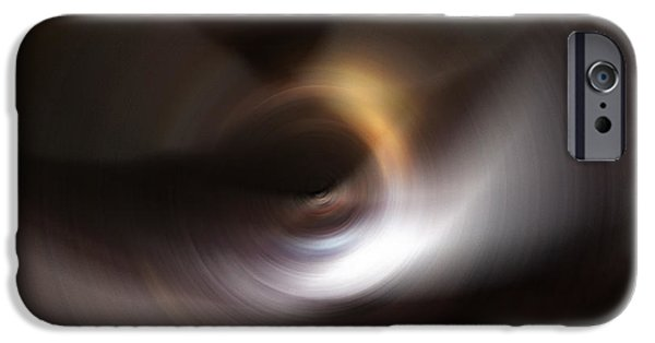 Ultra Modern iPhone Cases - Revelation - Abstract Art By Sharon Cummings iPhone Case by Sharon Cummings
