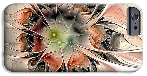 Anastasiya Mixed Media iPhone Cases - Revelation iPhone Case by Anastasiya Malakhova