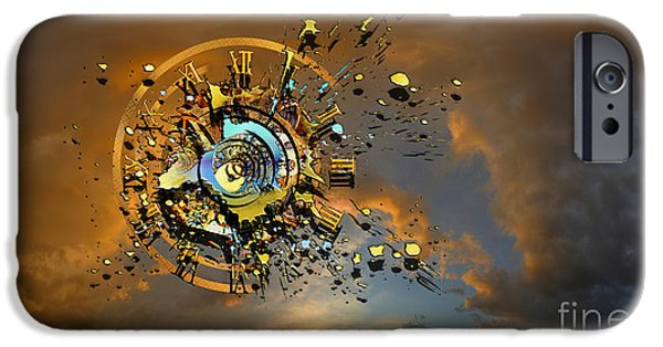 Explosion Digital iPhone Cases - Revelation iPhone Case by Franziskus Pfleghart