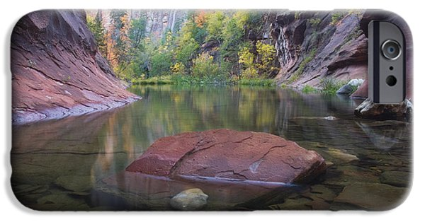 West Fork Photographs iPhone Cases - Revisited iPhone Case by Peter Coskun