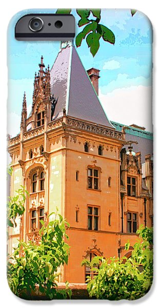 Love Asheville iPhone Cases - REVIVAL BILTMORE Asheville NC iPhone Case by William Dey