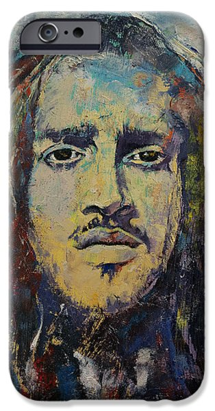 60s Hair iPhone Cases - Revolution iPhone Case by Michael Creese
