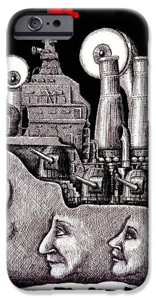 Revolutionary Ship iPhone Case by Vitaliy Gonikman