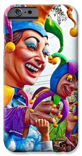 Rex Mardi Gras Parade XI iPhone Case by Steve Harrington