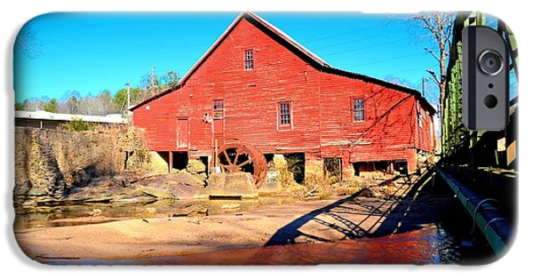Michelle Obama Photographs iPhone Cases - Rex Mill on Big Cotton Indian Creek iPhone Case by James Potts
